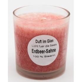 Duftglas Erdbeere Sahne